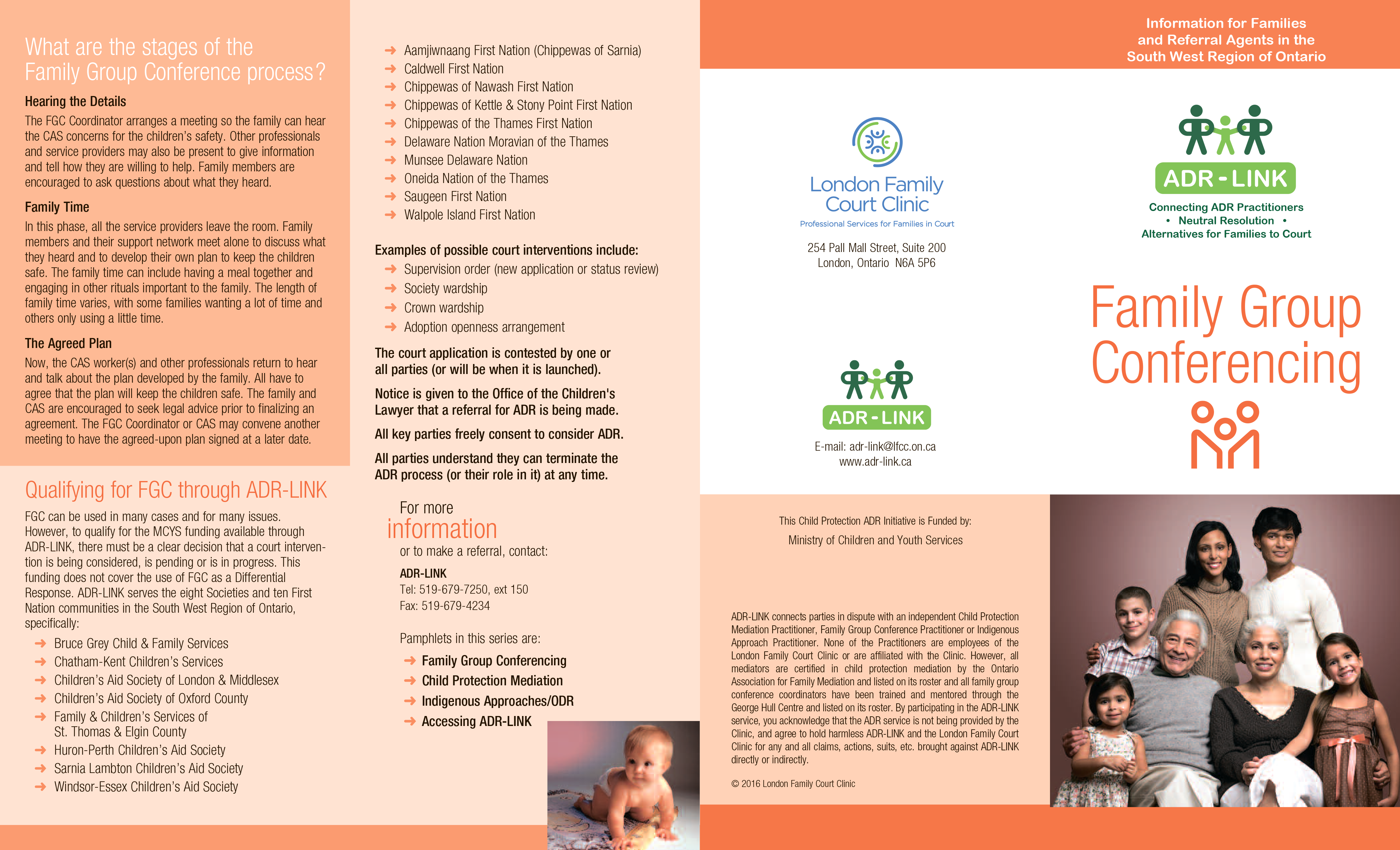 adr family group pamphlet