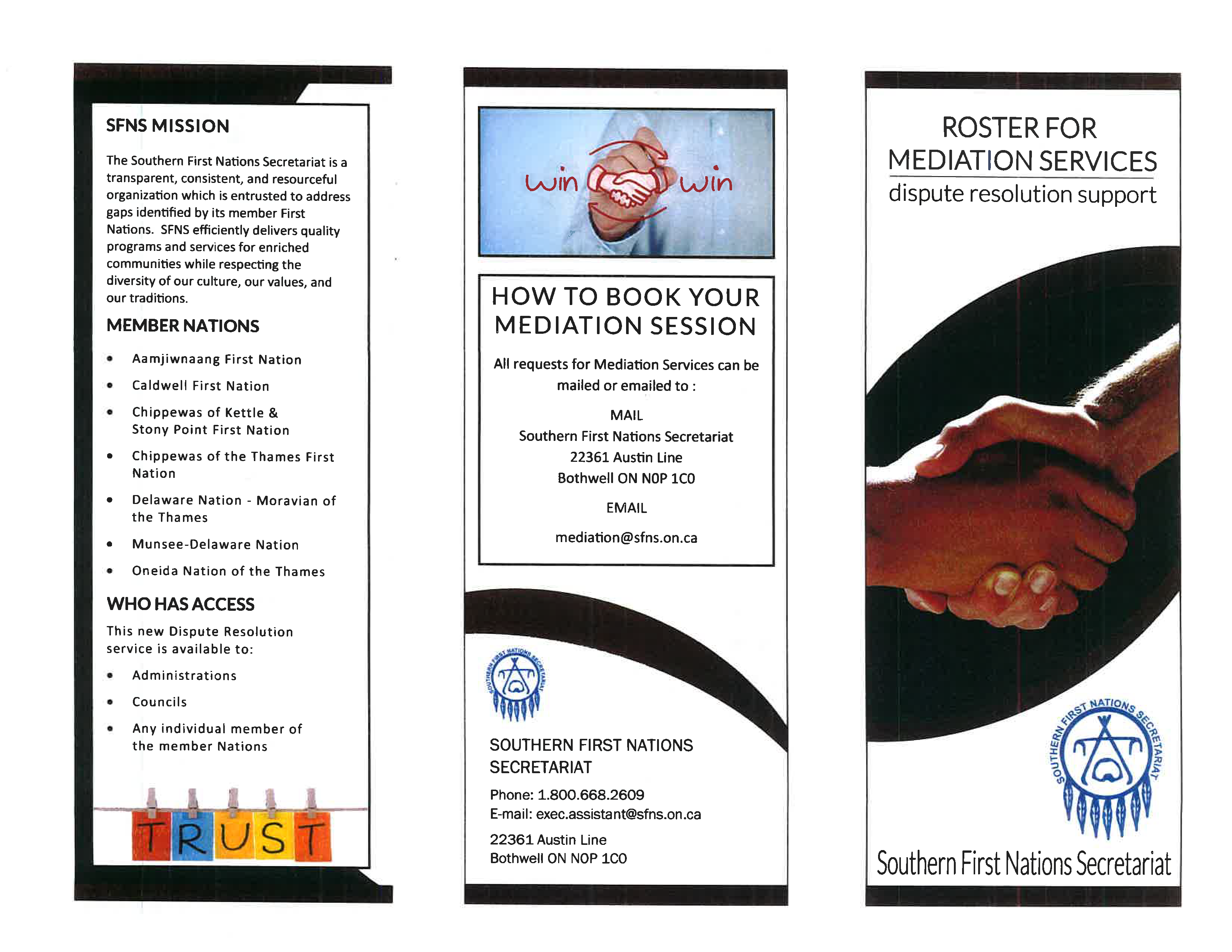 sfns mediation services pamphlet